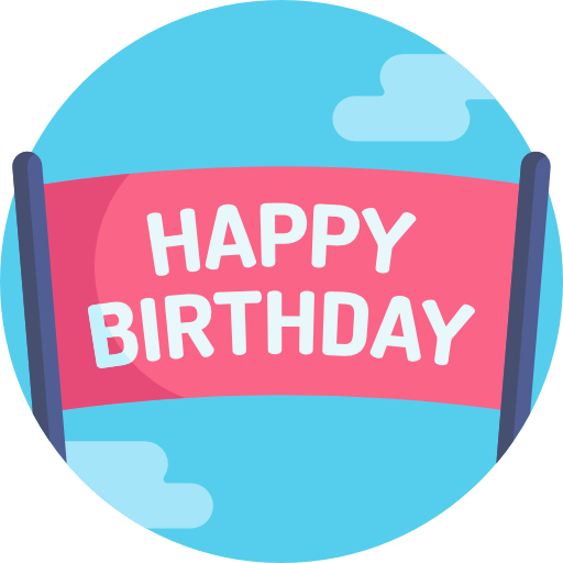 Happy Birthday - Du hast deinen Geburtstag im Board gefeiert!