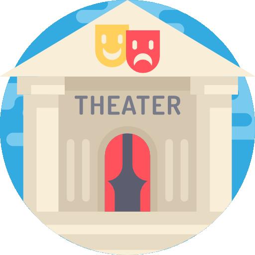 Du gehst  in deiner Freizeit sehr gerne ins Theater!